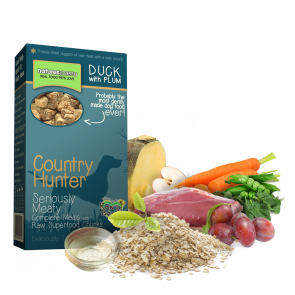 """Anatra con prugne """"Superfood Crunch"""""""